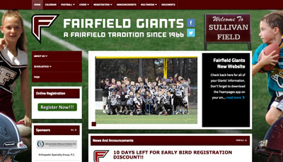 Fairfield Giants Football